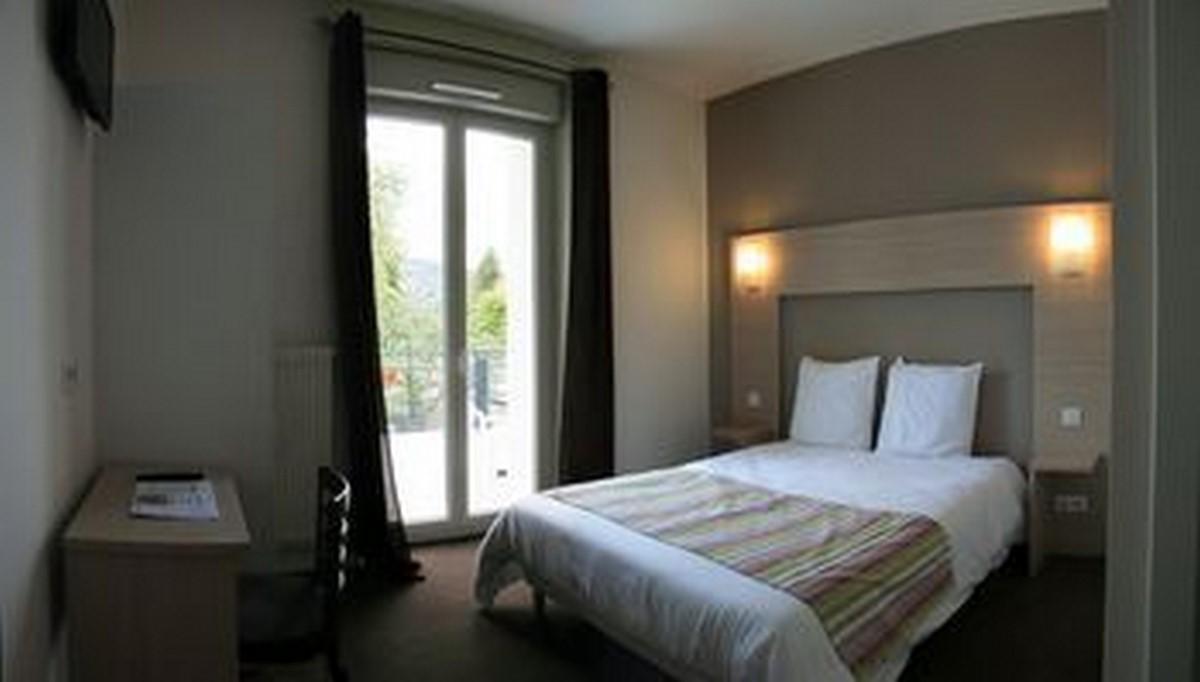Chambres et suites à l'hôtel l'echo du lac