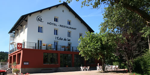 H tel restaurant spa g rardmer l 39 cho du lac vosges 88 for Gerardmer hotel des bains